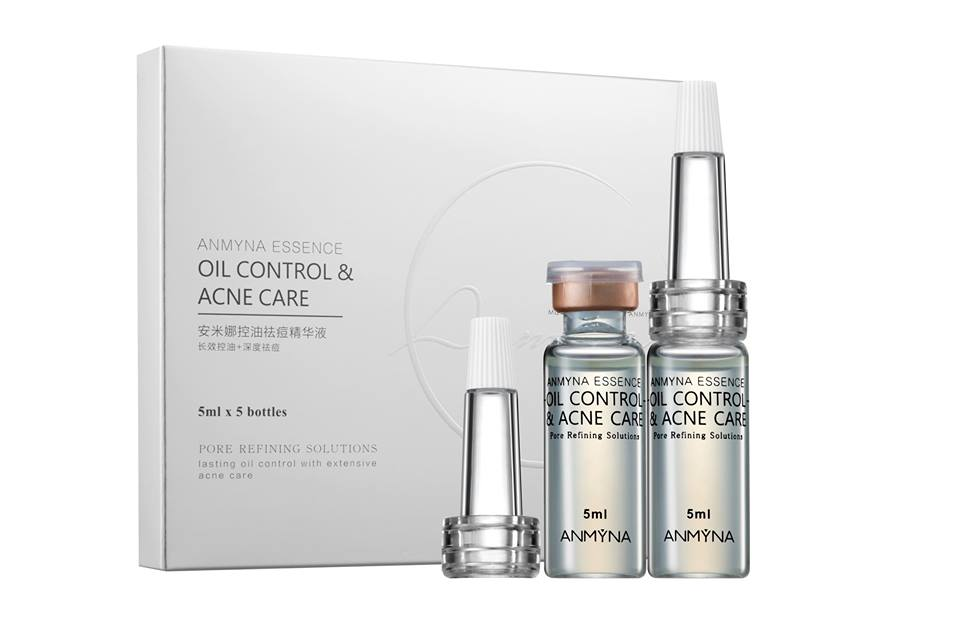 Oil Control, Acne Care Essence, triple effect, oil-controlling, acne treatment essence, Sebum Rebalancing Purification Formula (SPRF), moisture, blemish-free skin, maximum effectiveness, Repairs redness, reduces excessive oil, balances water-to-oil ratio of the skin, tightens pores, lightens acne scars