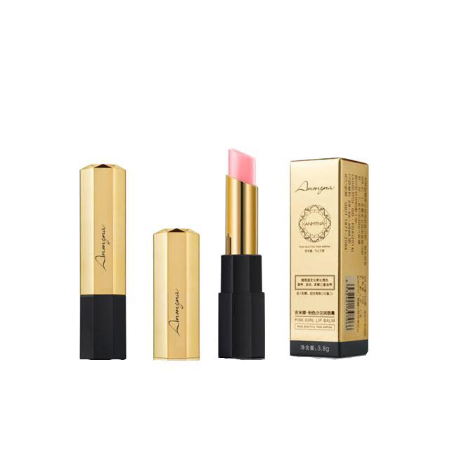 Pink Girl Lipbalm, Lip Balm, soft, fresh pink, various plant extracts, prevent dryness and cracked lips, chapped lips, Long-lasting, nutrients, nourish lips, protective layer against dust, Colours stay longer