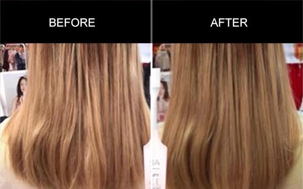 Anmyna Multi Therapy Hair Essence, Testimonials, Anmyna Online, Great Results, Skincare, RESULTS YOU'LL LOVE, our customers, happy customer, before after result