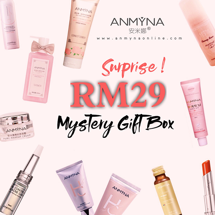 Anmyna, Promotion, Mystery Gifts, anmyna, rm29, mystery gift, free, voucher