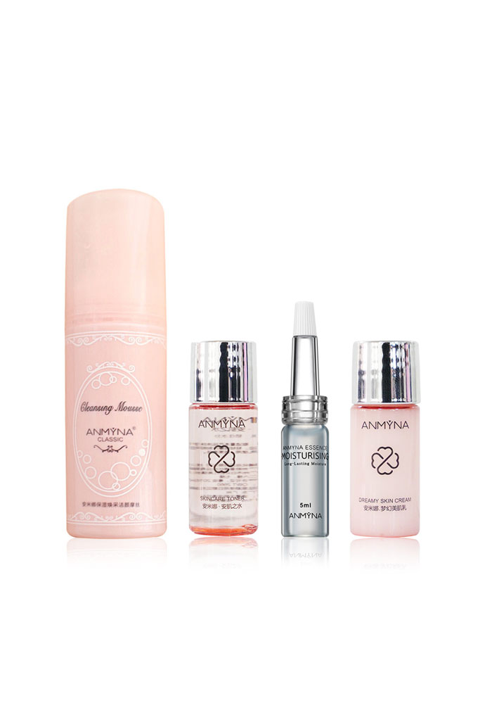 Anmyna Daily Skincare Set, botanical ingredients, perfect healthy skin, Deep hydration, regenerate skin
