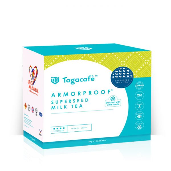TAGACAFE ARMORPROOF SUPERSEED MILK TEA