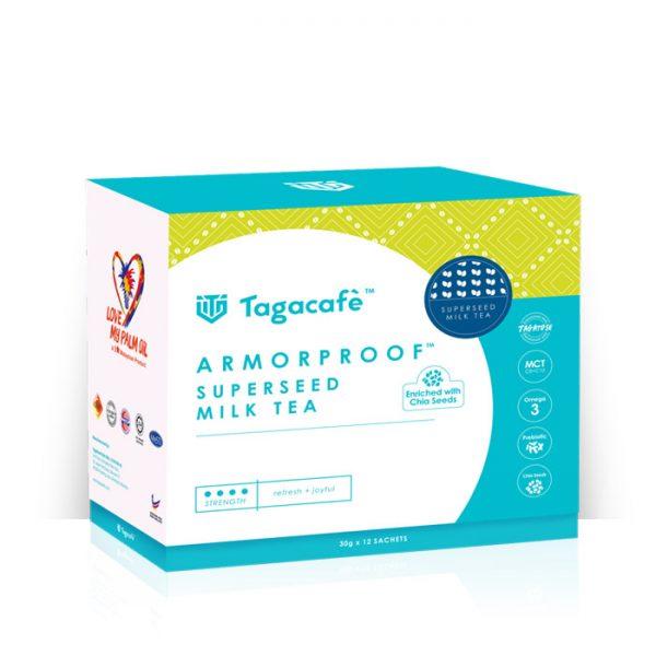 TAGACAFE ARMORPROOF SUPERSEED MILK TEA