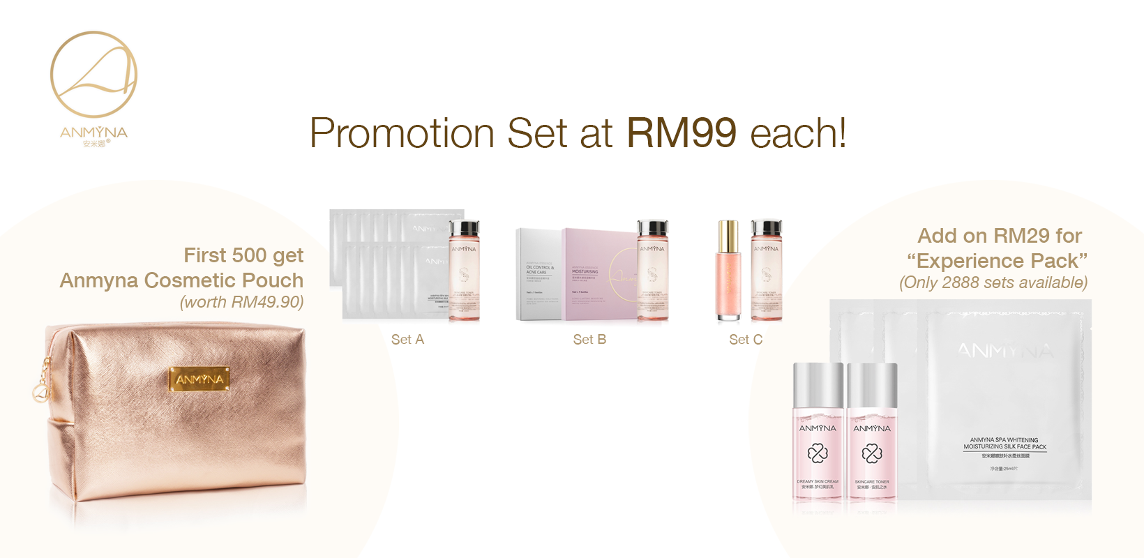 Anmyna October Promotion Sets